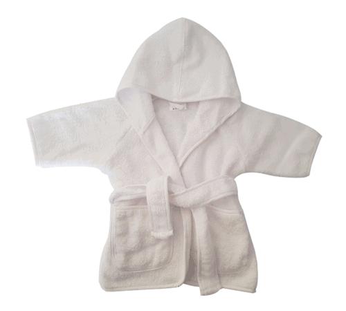 Gepersonaliseerde badjas wit