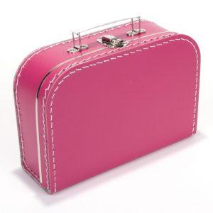 Gepersonaliseerd fushia koffertje