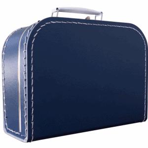 Gepersonaliseerd donkerblauw koffertje