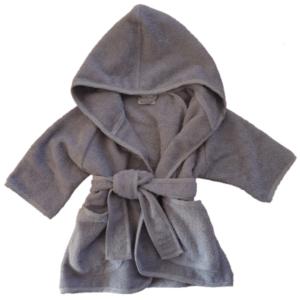 Gepersonaliseerde badjas antraciet