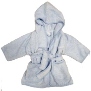 Gepersonaliseerde badjas blauw